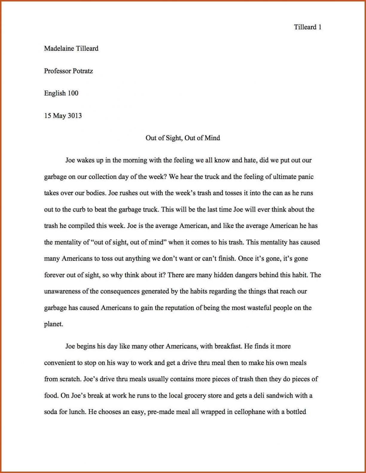 An Essay On Newspaper  English Essay Topics also Last Year Of High School Essay  English Research Paper Example Essay Com Ageism  What Is A Thesis Statement In A Essay