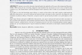 003 Research Paper Essay On Autism Spectrum Disorder Review Article Disorders Paper20 Awesome Papers Topics