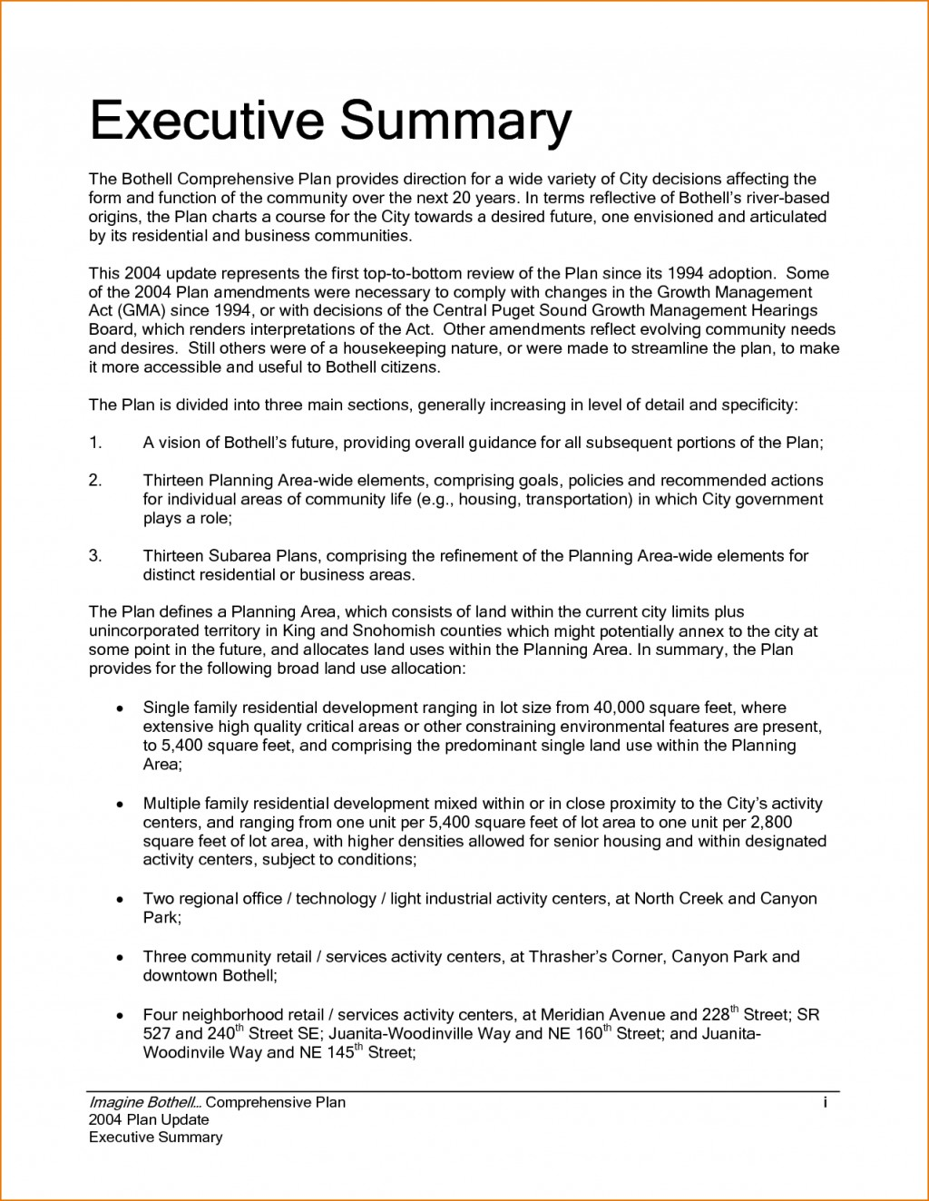 003 Research Paper Executive Summary Unforgettable Example Large