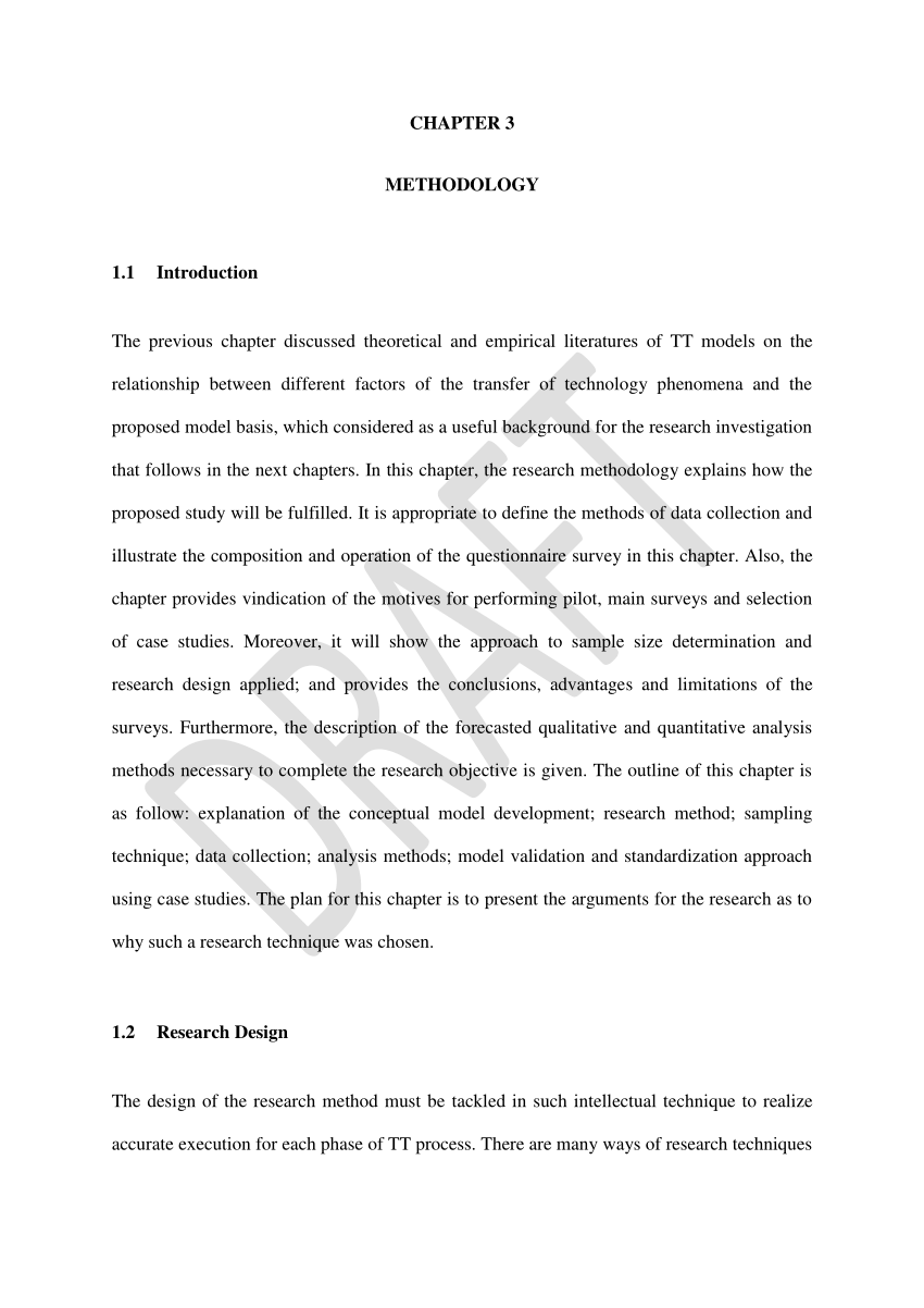 003 Research Paper Format Methodology Unique Example Of Section Pdf Sample Quantitative Full