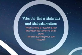 003 Research Paper How To Write Materials And Methods In Excellent A Example