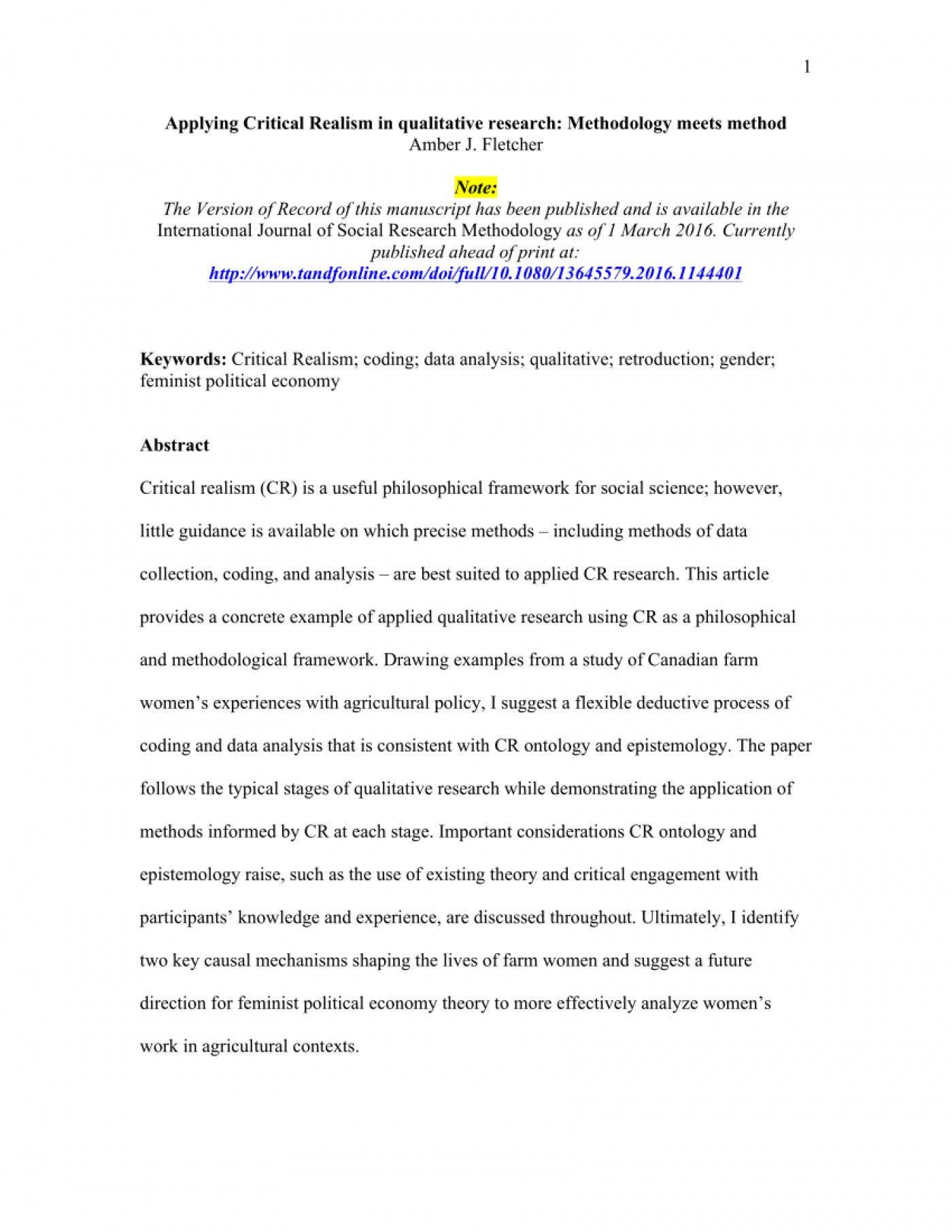 003 Research Paper How To Write Methodology For Qualitative Phenomenal The Section Of A 1400