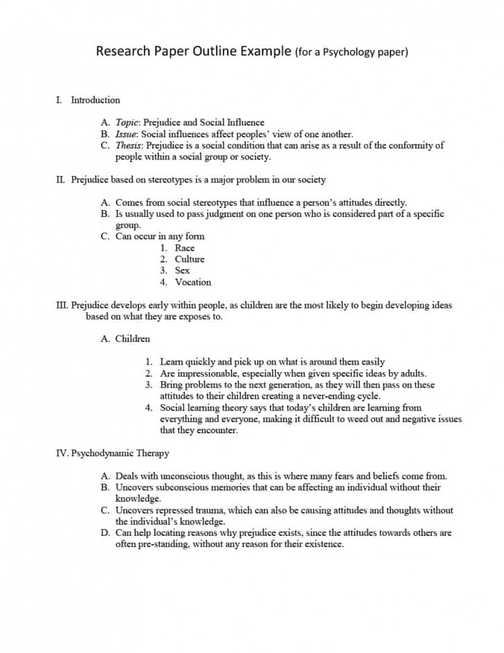003 Research Paper In Mla Format Template Unbelievable Style Example With Title Page Outline 728