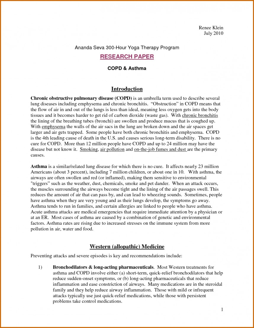 003 Research Paper Introduction Of Term Example Excellent A Steps To Writing Paragraph How Start Examples
