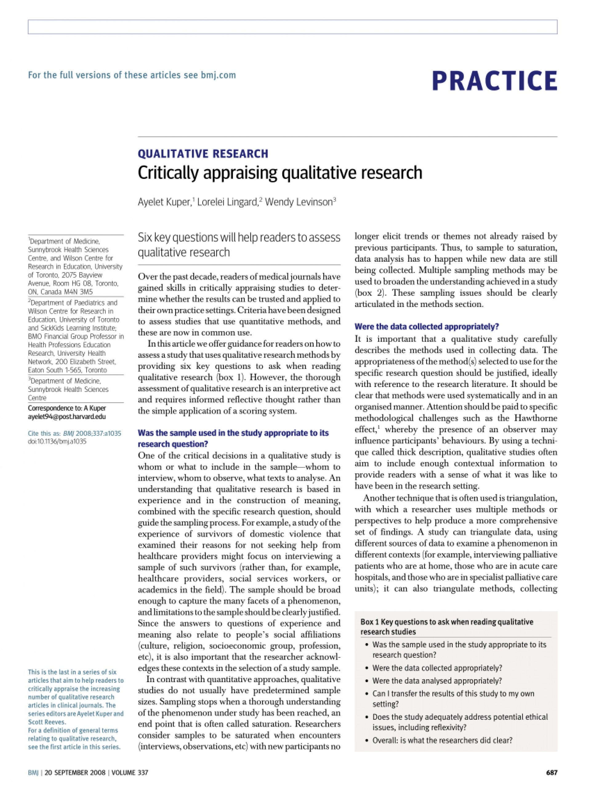 003 Research Paper Largepreview How To Write The Results Section Of Formidable A Qualitative 1920
