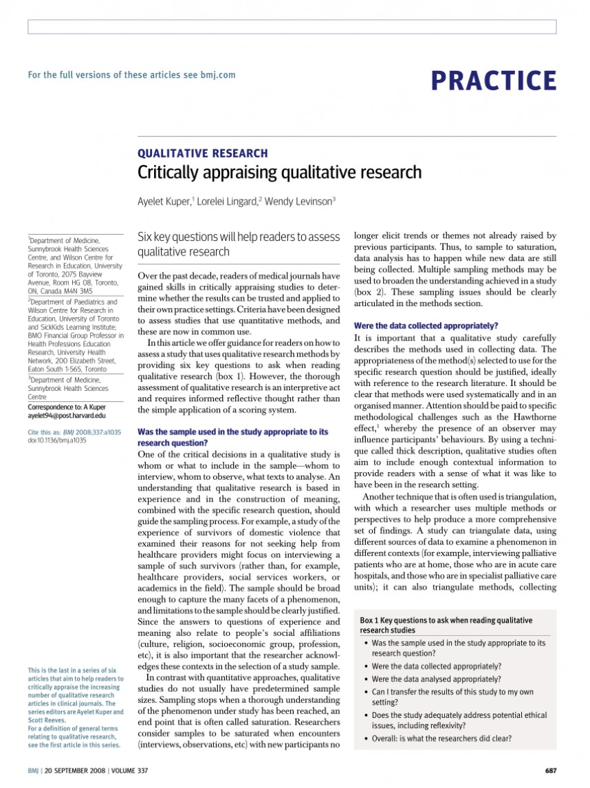 003 Research Paper Largepreview How To Write The Results Section Of Formidable A Qualitative
