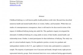 003 Research Paper Largepreview Psychological Effects Of Breathtaking Bullying 320