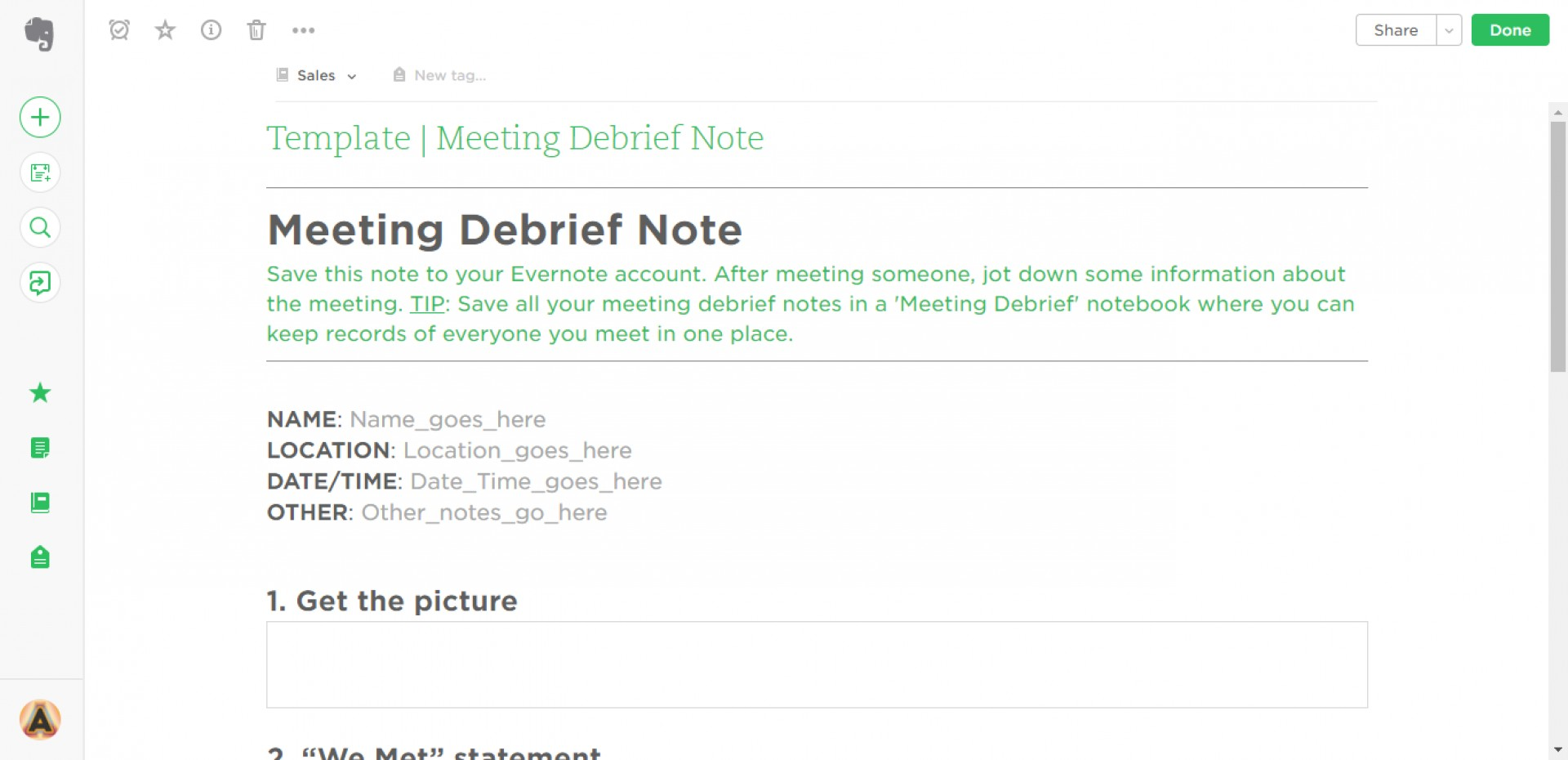 003 Research Paper Meeting Debrief Evernote Templates Note Card Maker Marvelous For 1920