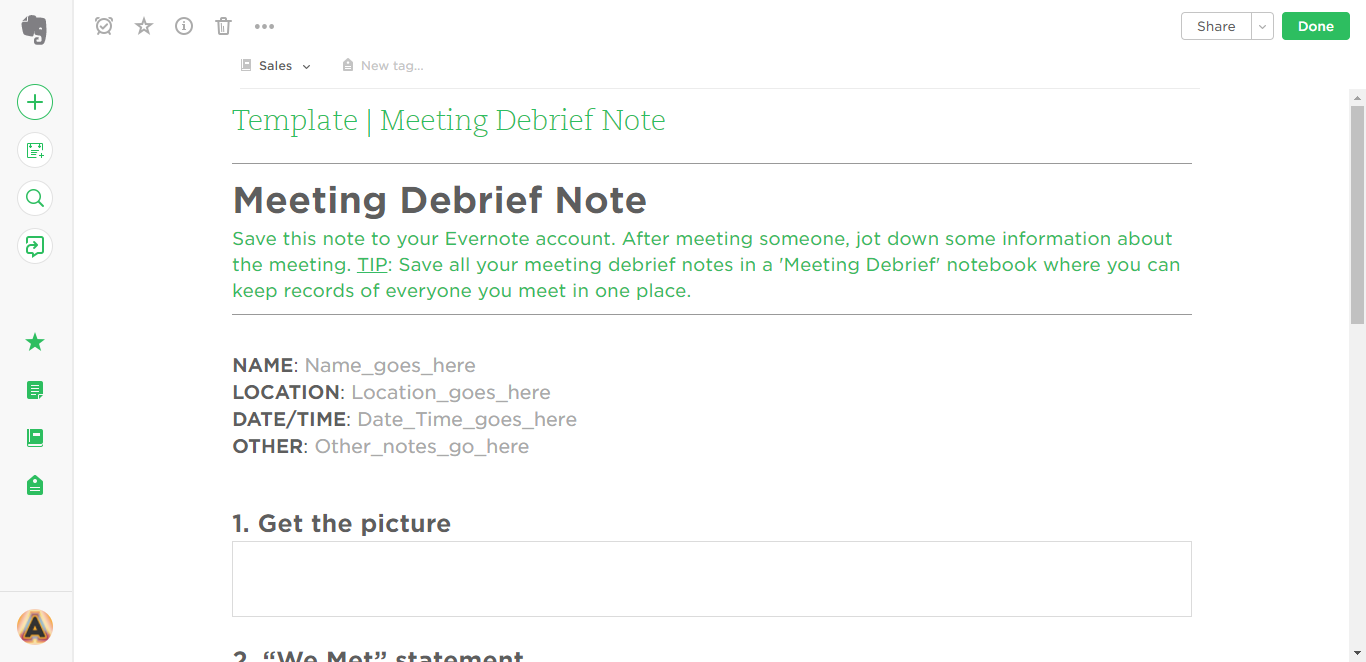 003 Research Paper Meeting Debrief Evernote Templates Note Card Maker Marvelous For Full