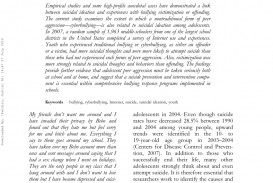 003 Research Paper On Cyber Bullying Stirring Cyberbullying Titles Outline