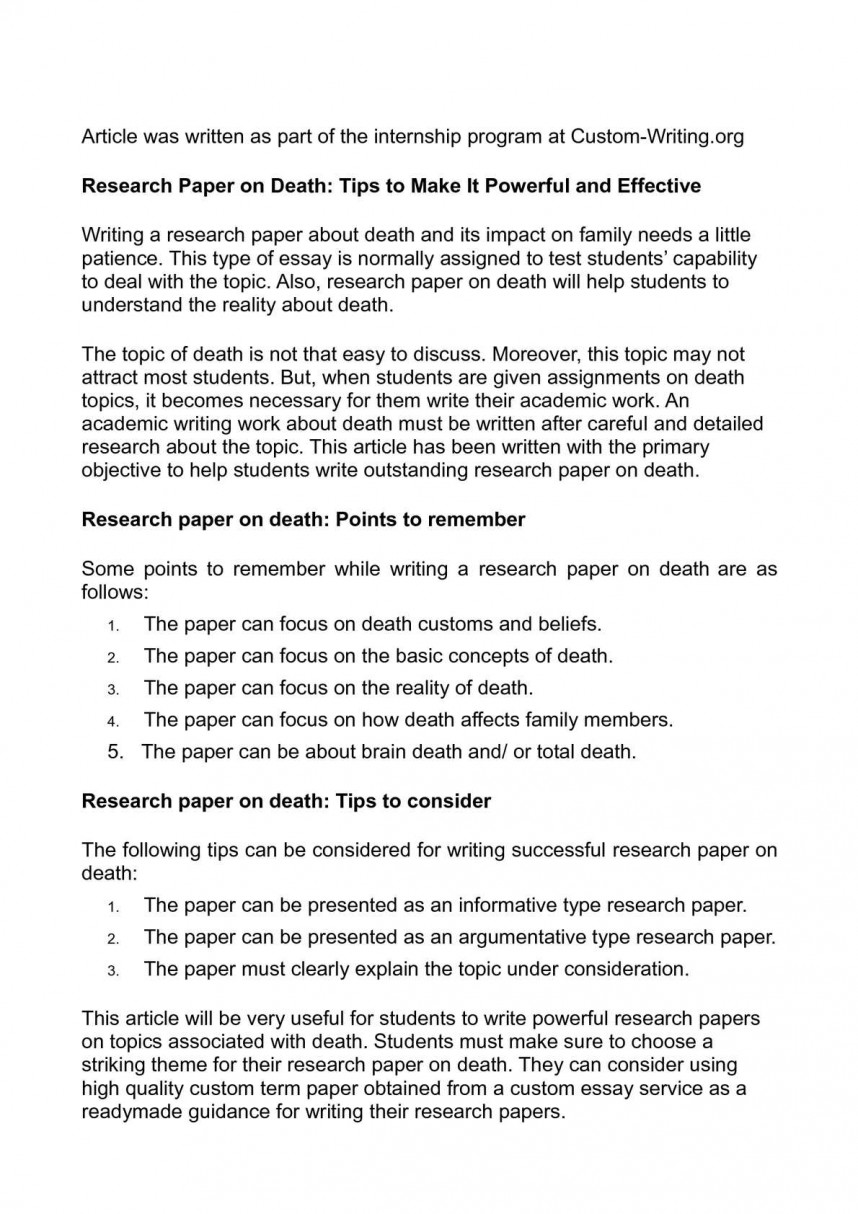 003 Research Paper P1 Custom Written Term Phenomenal Papers