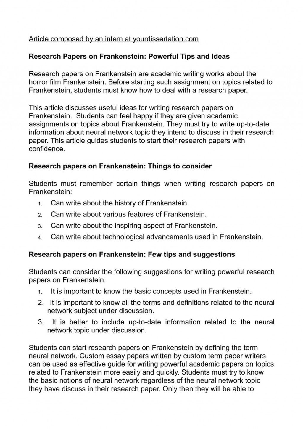 003 Research Paper P1 Papers Surprising Ideas High School Topics Science Writing Large