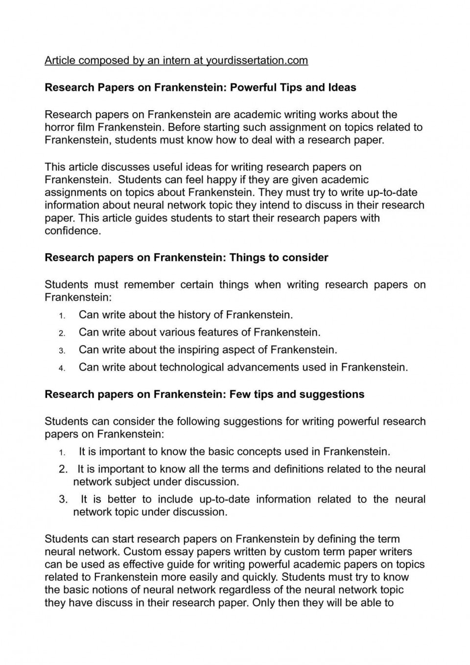 003 Research Paper P1 Papers Surprising Ideas Writing High School Topics Biology 960