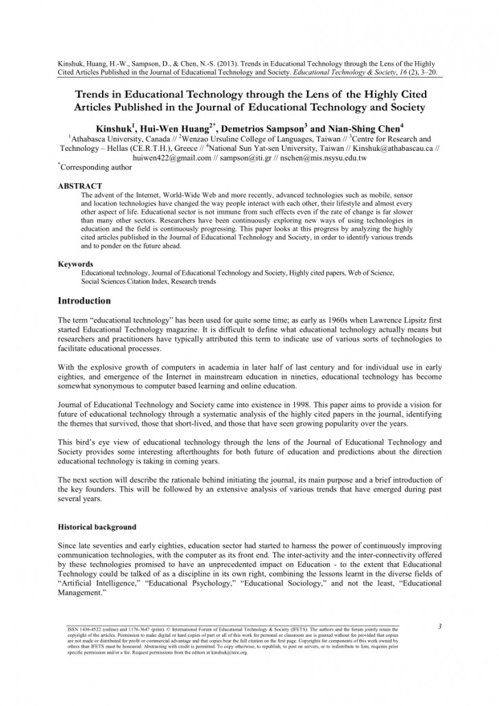 003 Research Paper Published Papers Wonderful In Mathematics About Education Pdf 728