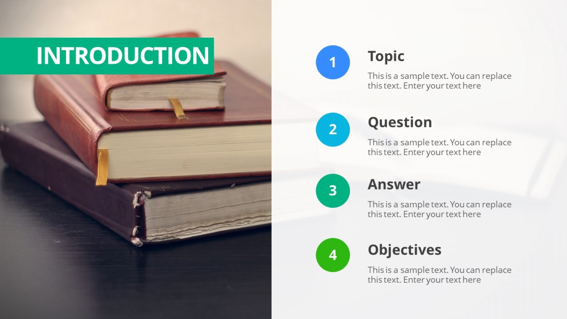 003 Research Paper Thesis Powerpoint Template 16x9 How To