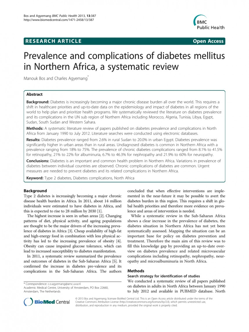 003 Research Papers On Diabetes Paper Stirring Mellitus Pdf Type 1