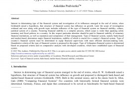 004 Abstract Of Research Paper In Finance Awful