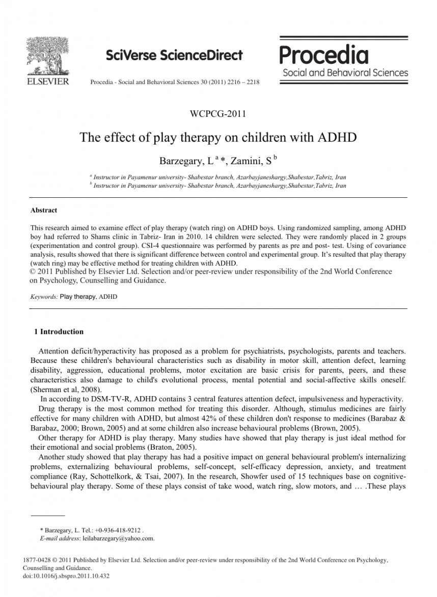 004 Adhd Research Paper Amazing Abstract 868