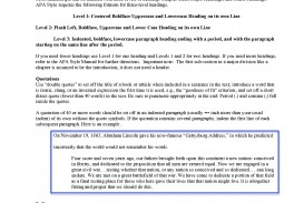004 Apa Format Research Paper Example 6th Edition Sample Colesecolossus Elegant Header Archaicawful 2015