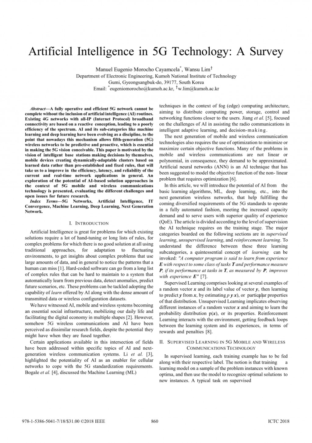 004 Artificial Intelligence Research Paper Ieee Impressive 2018 Large