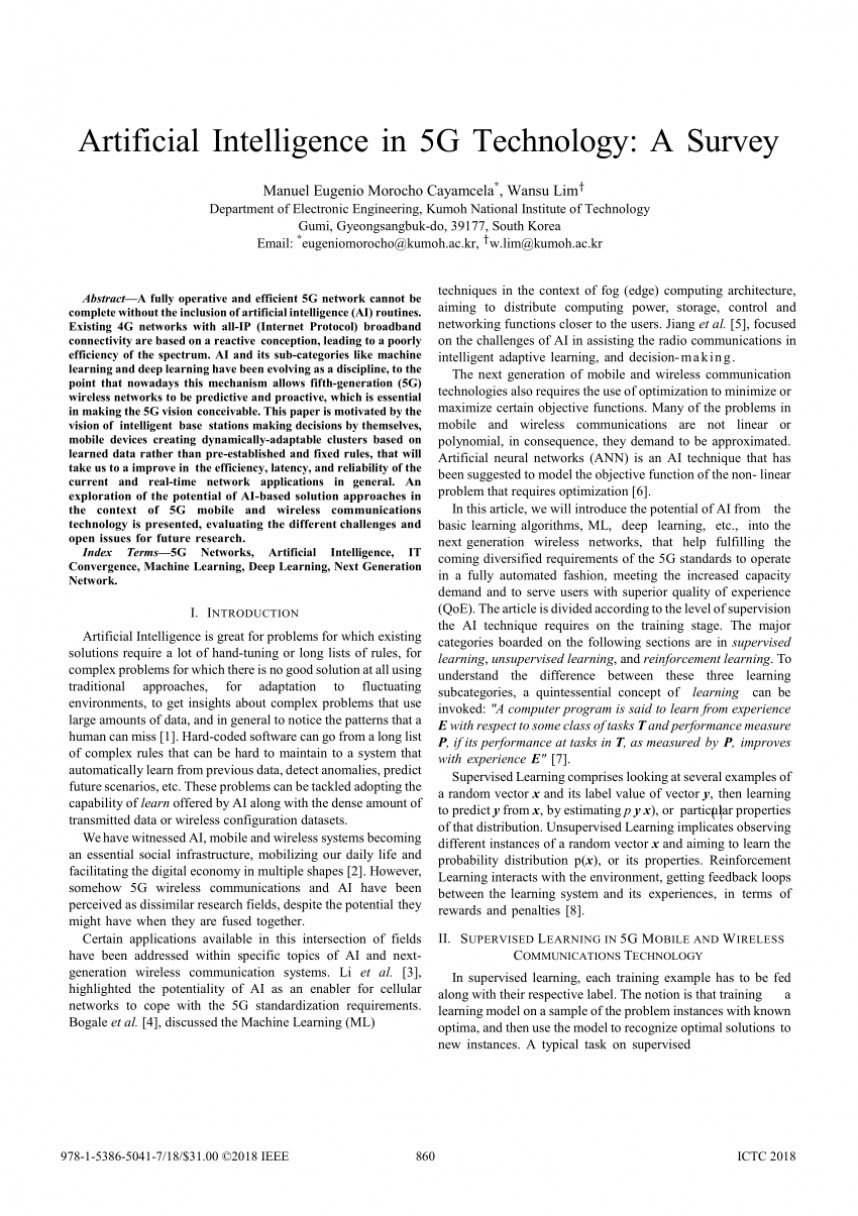 004 Artificial Intelligence Research Paper Ieee Impressive 2018