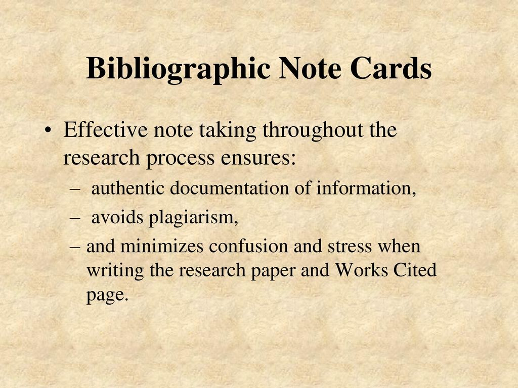 004 Bibliography Note Cards For Research Paper Magnificent Large