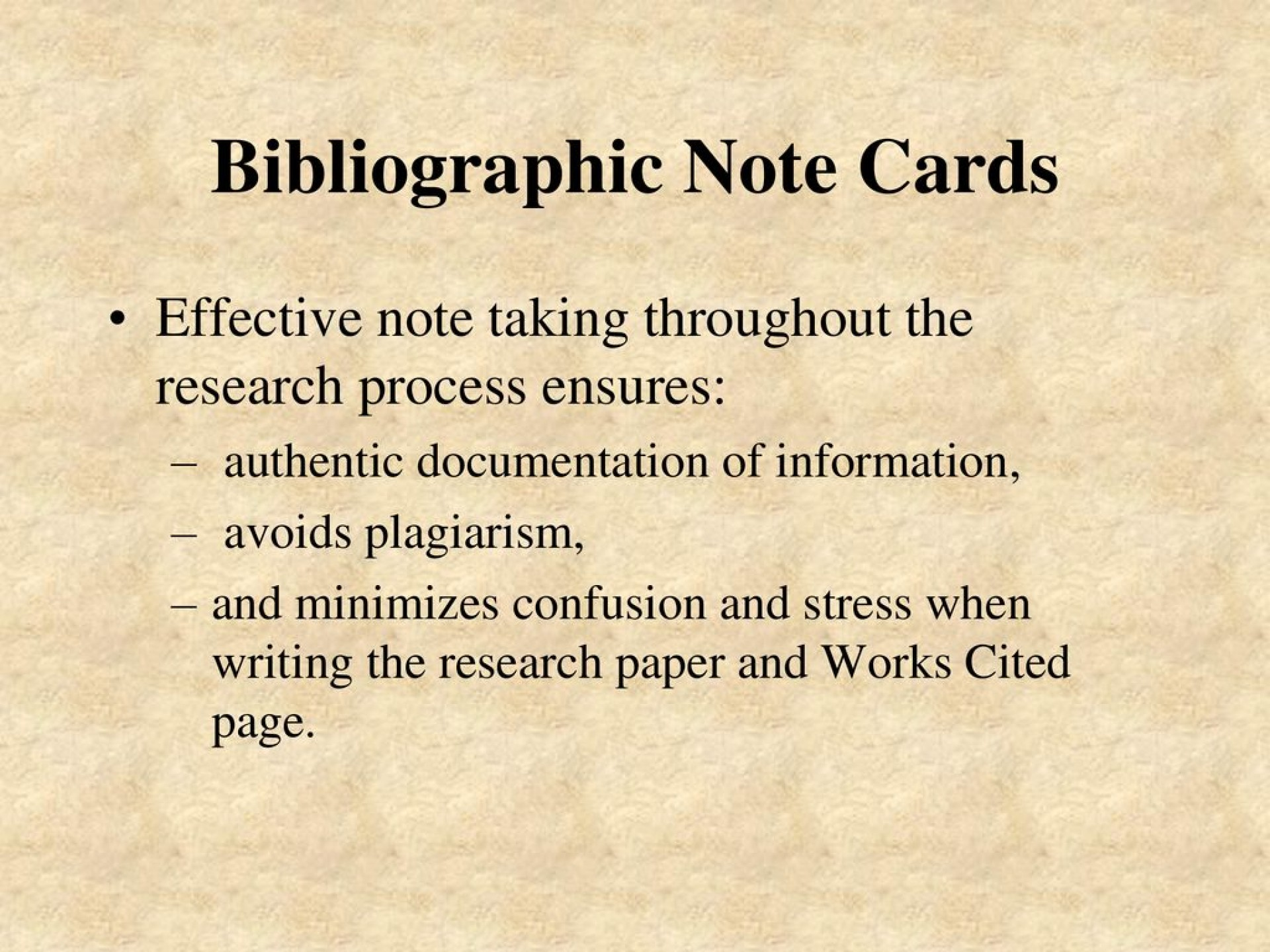 004 Bibliography Note Cards For Research Paper Magnificent 1920