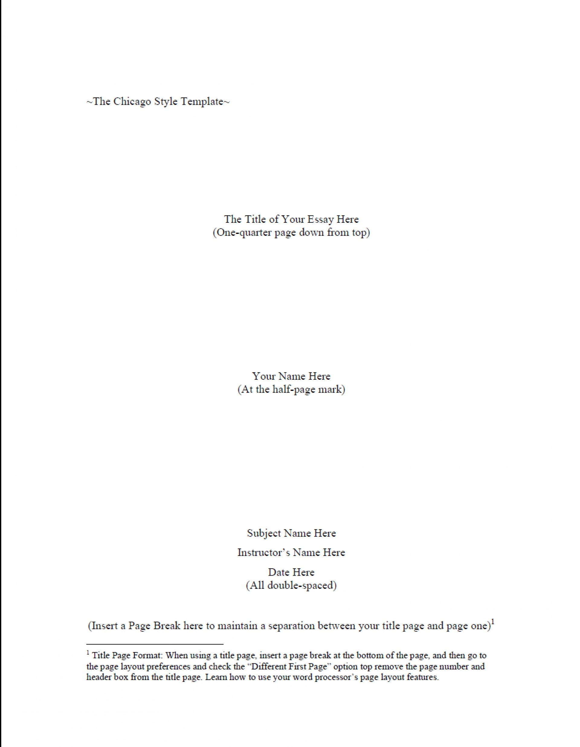 004 Chicago Style Research Paper Format Paper1 Stupendous Sample Outline 1920