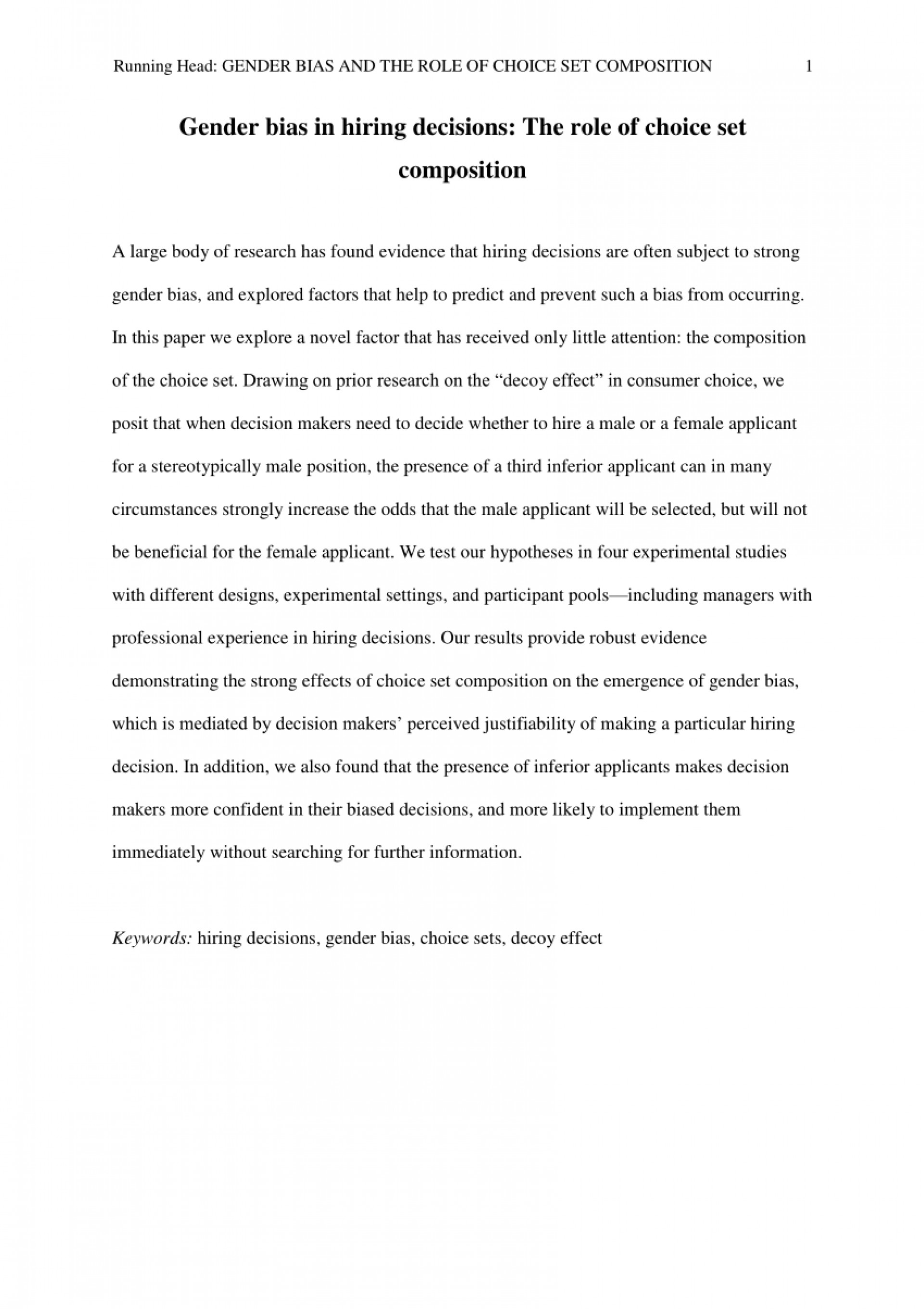 004 Conclusion Outline Research Paper Gender Role Essays Roles In Society Essay Topics Thesis 2388831673 On Fearsome 1920