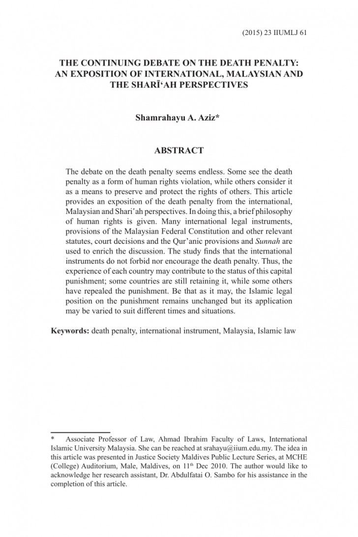 004 Death Penalty Research Paper Abstract Remarkable 728