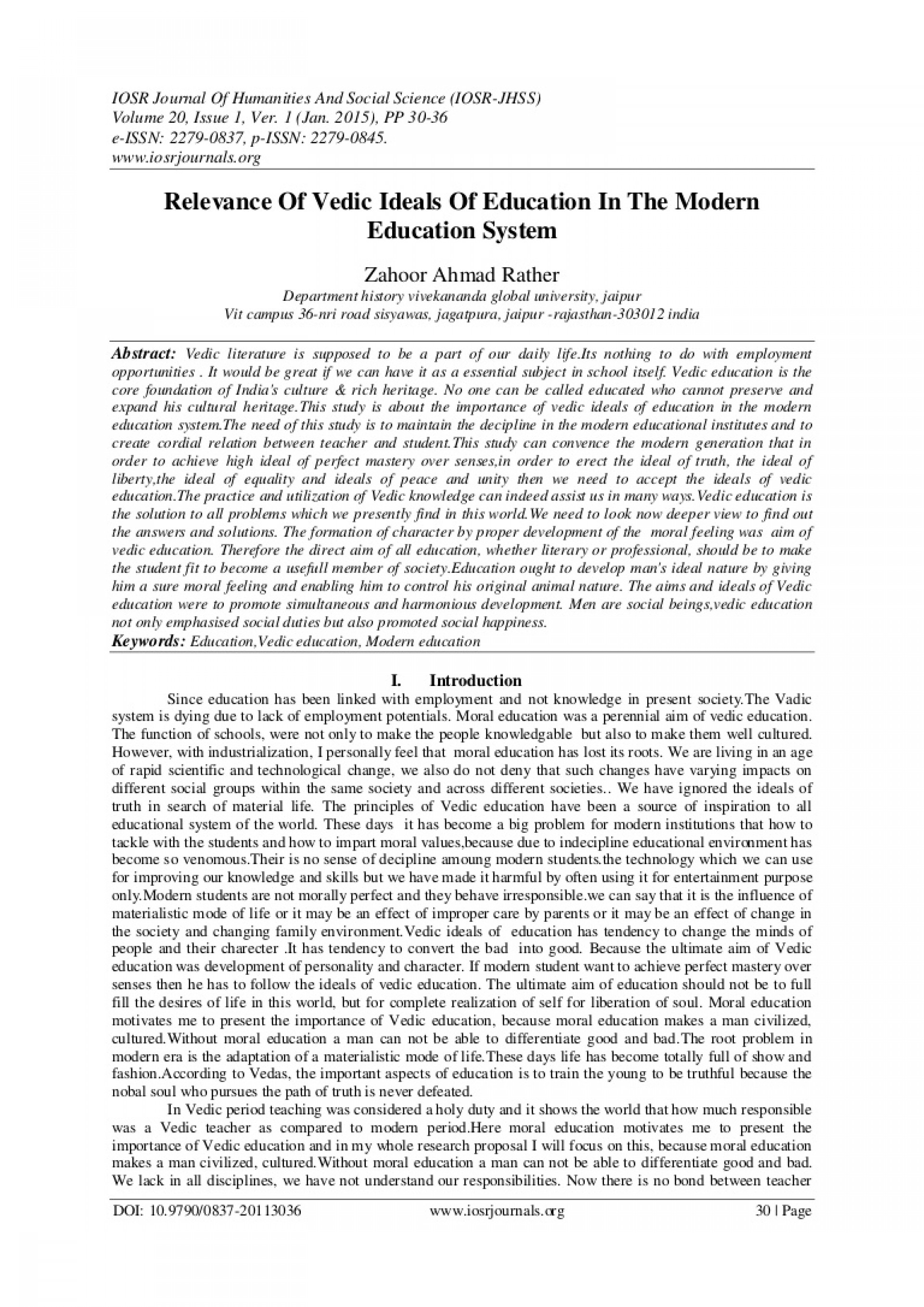 essay on current education system in india