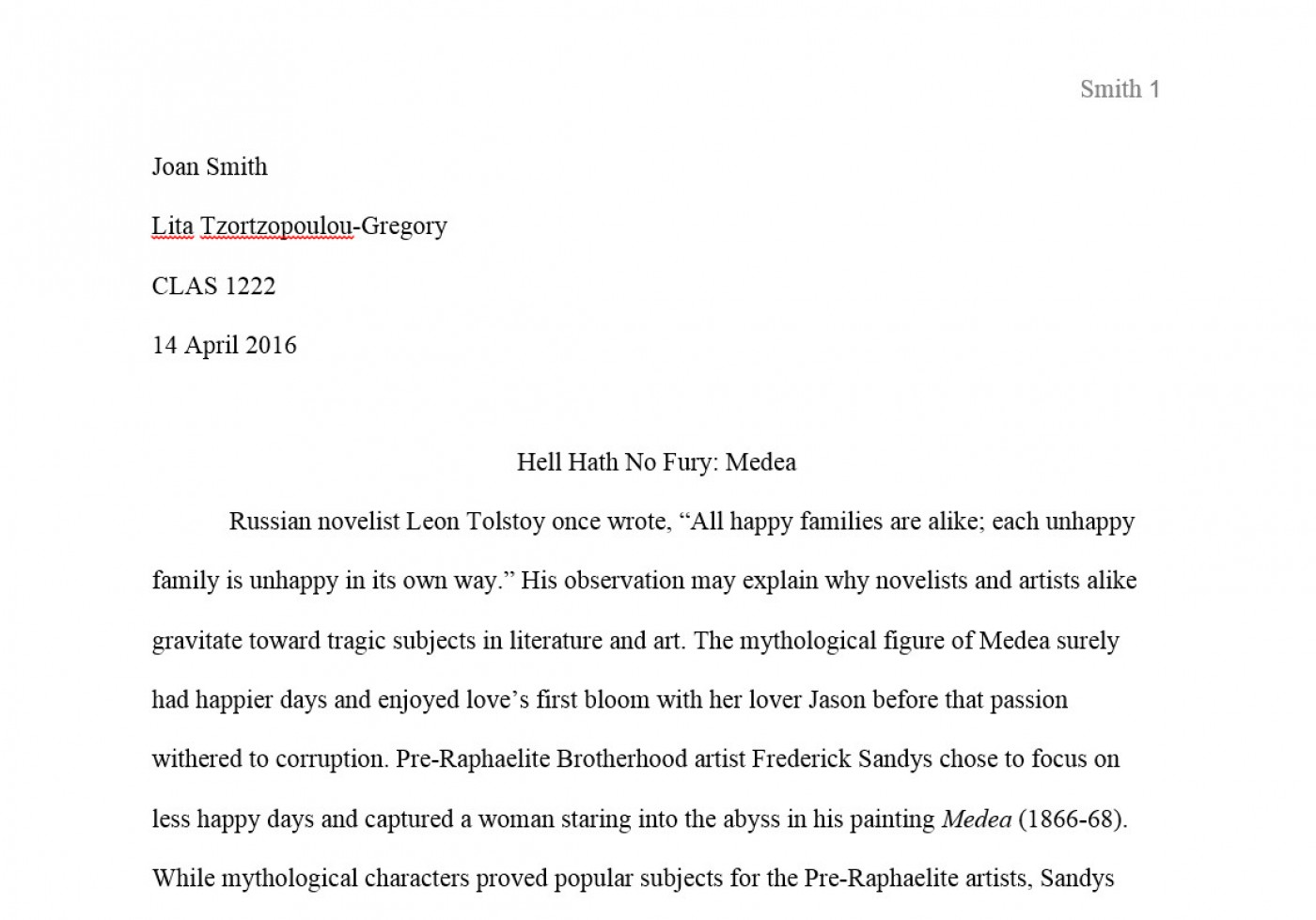 008 Mla Style Research Paper Format Example First ~ Museumlegs