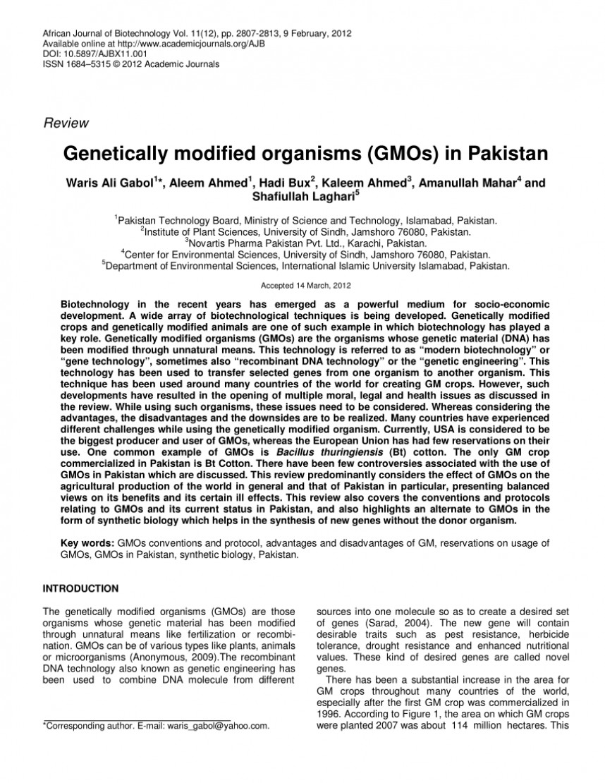 004 Gmo Research Paper Introduction Shocking