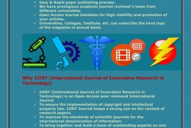 004 How To Publish Research Paper In International Journal Ppt Ijirt Author Benefits Specific Striking 320