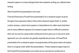 004 How To Research Paper Ppt Outstanding Write A Powerpoint Presentation Writing Scientific Make