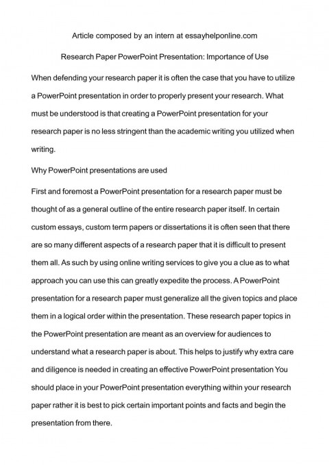 004 How To Research Paper Ppt Outstanding Publish Write Abstract For Prepare 480