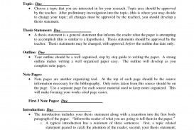 004 How To Write Thesis Statement For Science Research Paper Shocking A