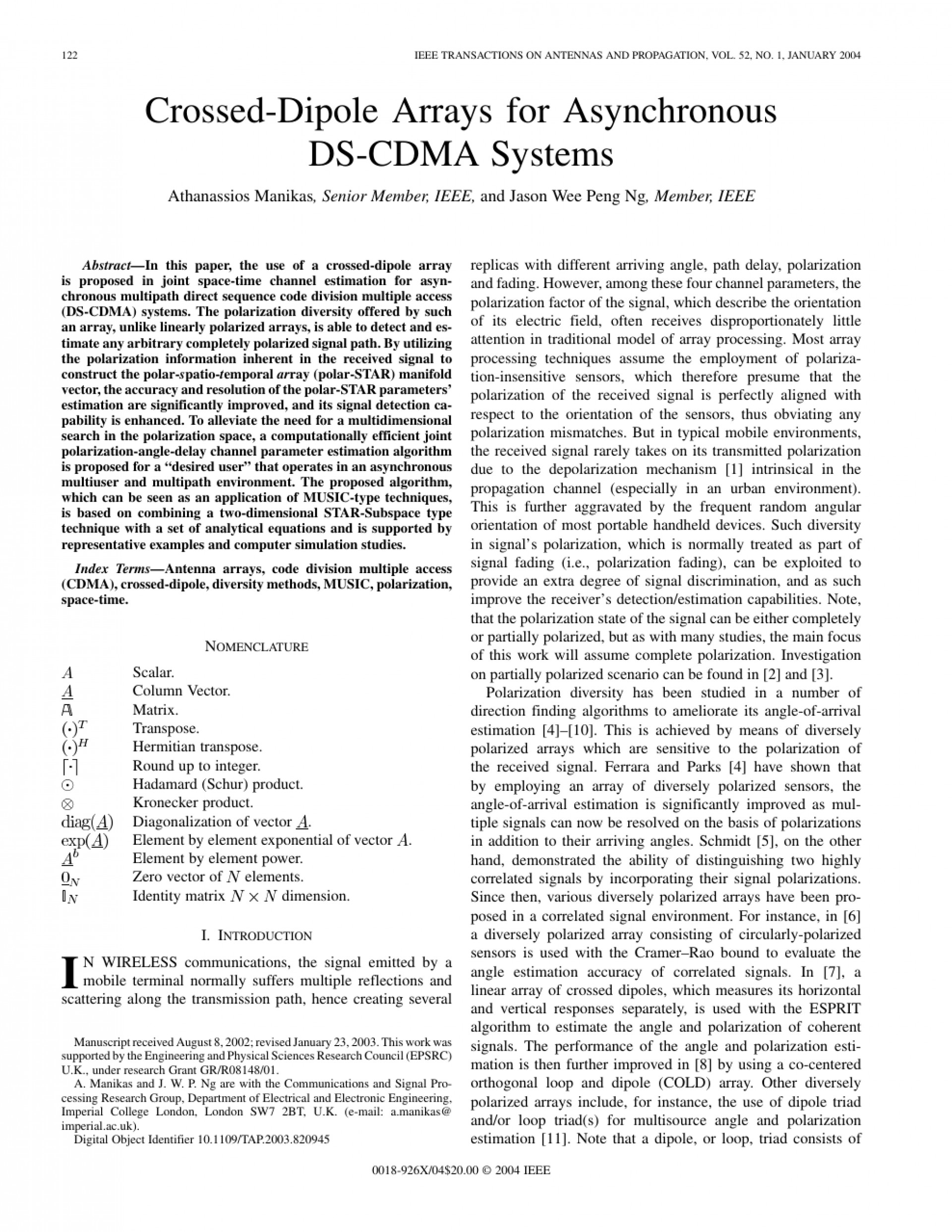 004 Ieee Research Papers In Computer Science Pdf Paper Phenomenal 1920
