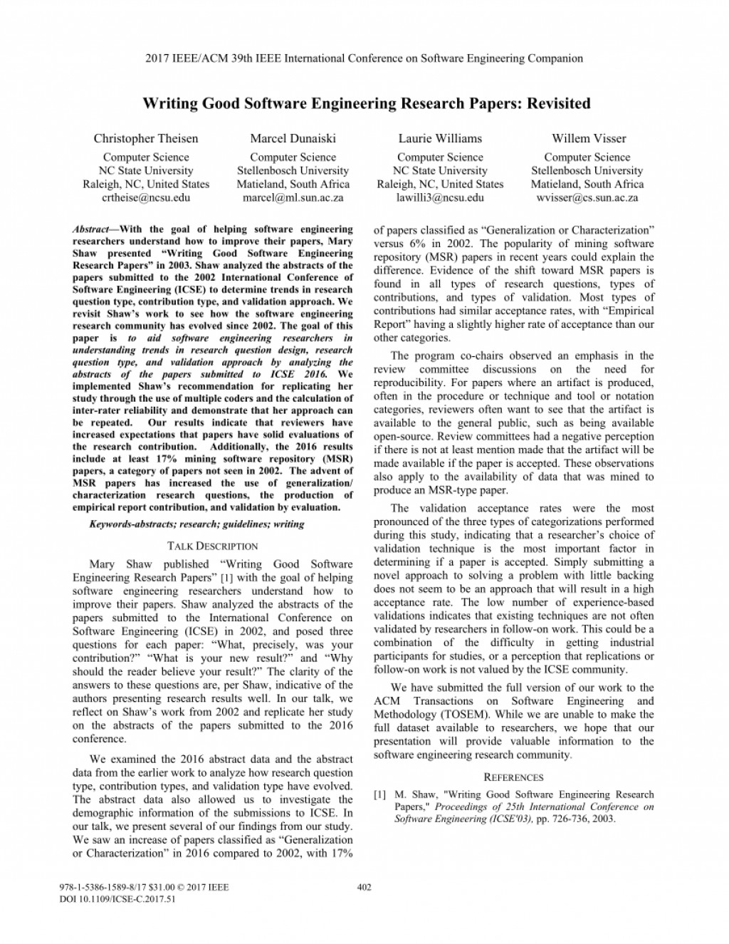 004 Ieee Researchs In Computer Science Largepreview Unusual Research Papers 2017 Large