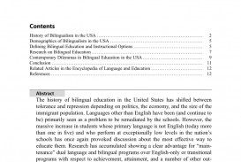 004 Largepreview Bilingual Education Research Paper Unusual Pdf