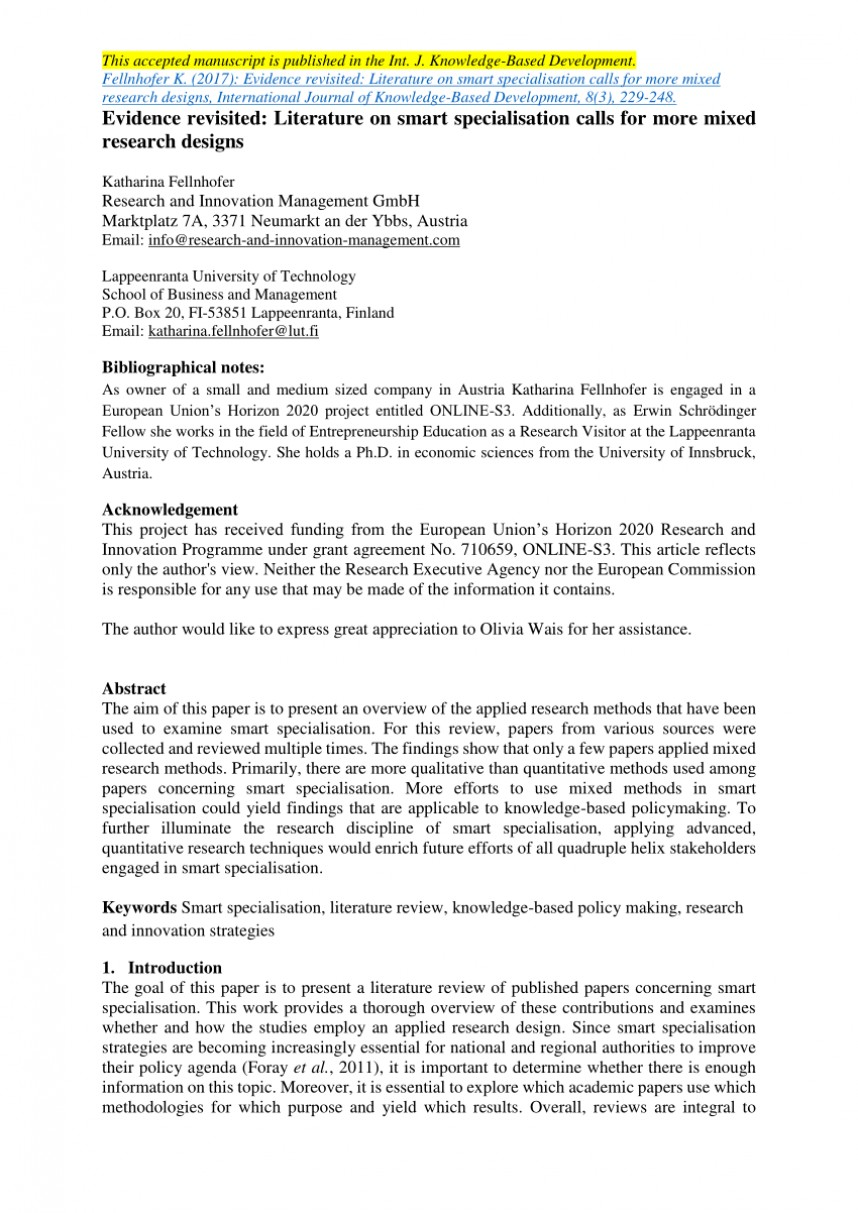 004 Largepreview Including Literature Review In Research Impressive Paper Pdf Example Of A How To Write Related