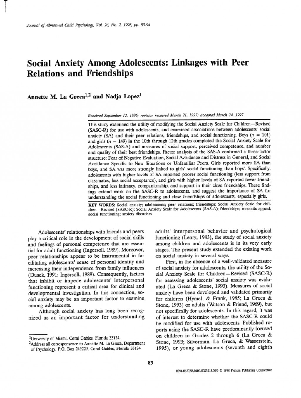 004 Largepreview Psychology Research Paper On Social Anxiety Staggering Disorder Large