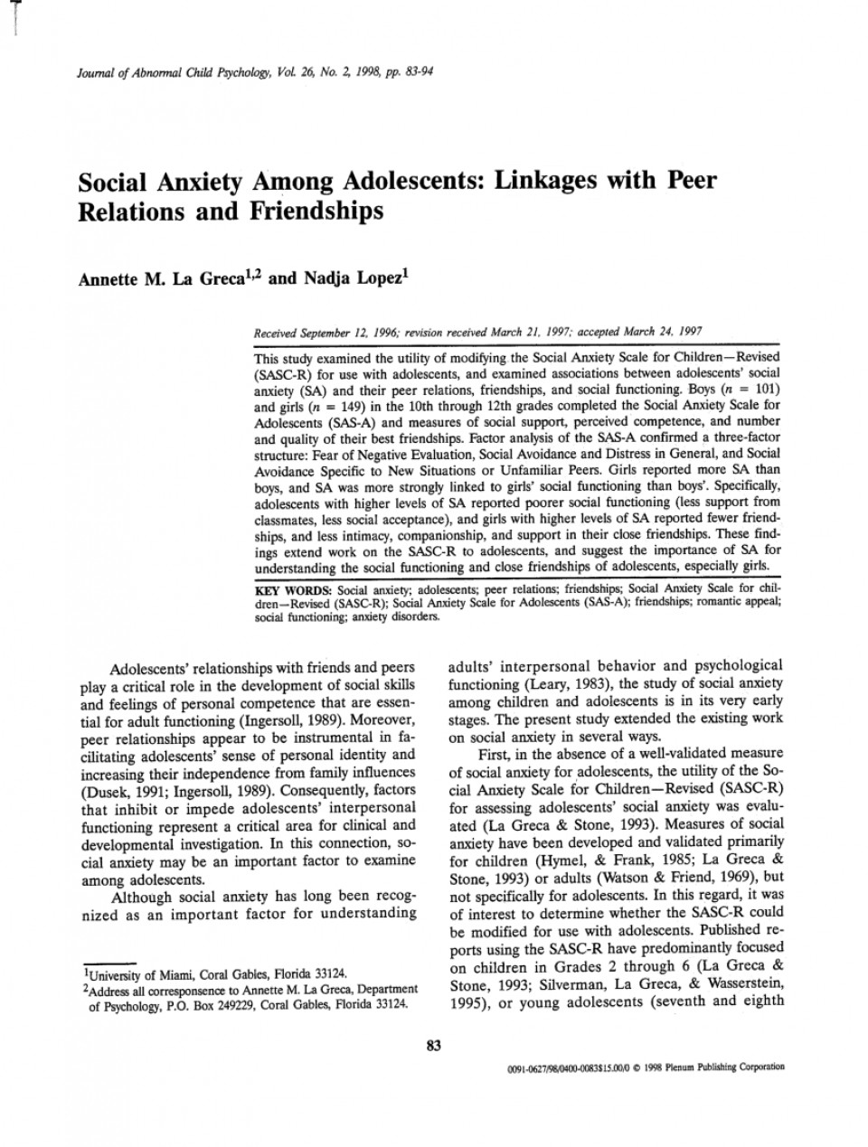 004 Largepreview Psychology Research Paper On Social Anxiety Staggering Disorder 960