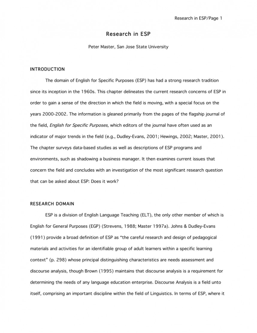 004 Largepreview Research Paper Sensational English 101 Topics 102 Outline Pdf