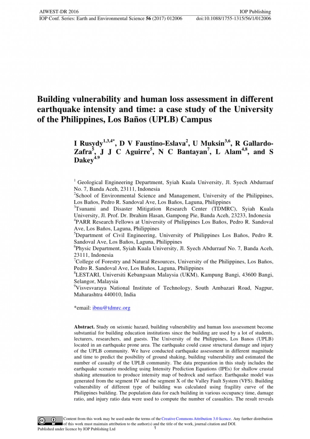 004 Largepreview Research Paper Earthquake Pdf Wondrous Philippines Large