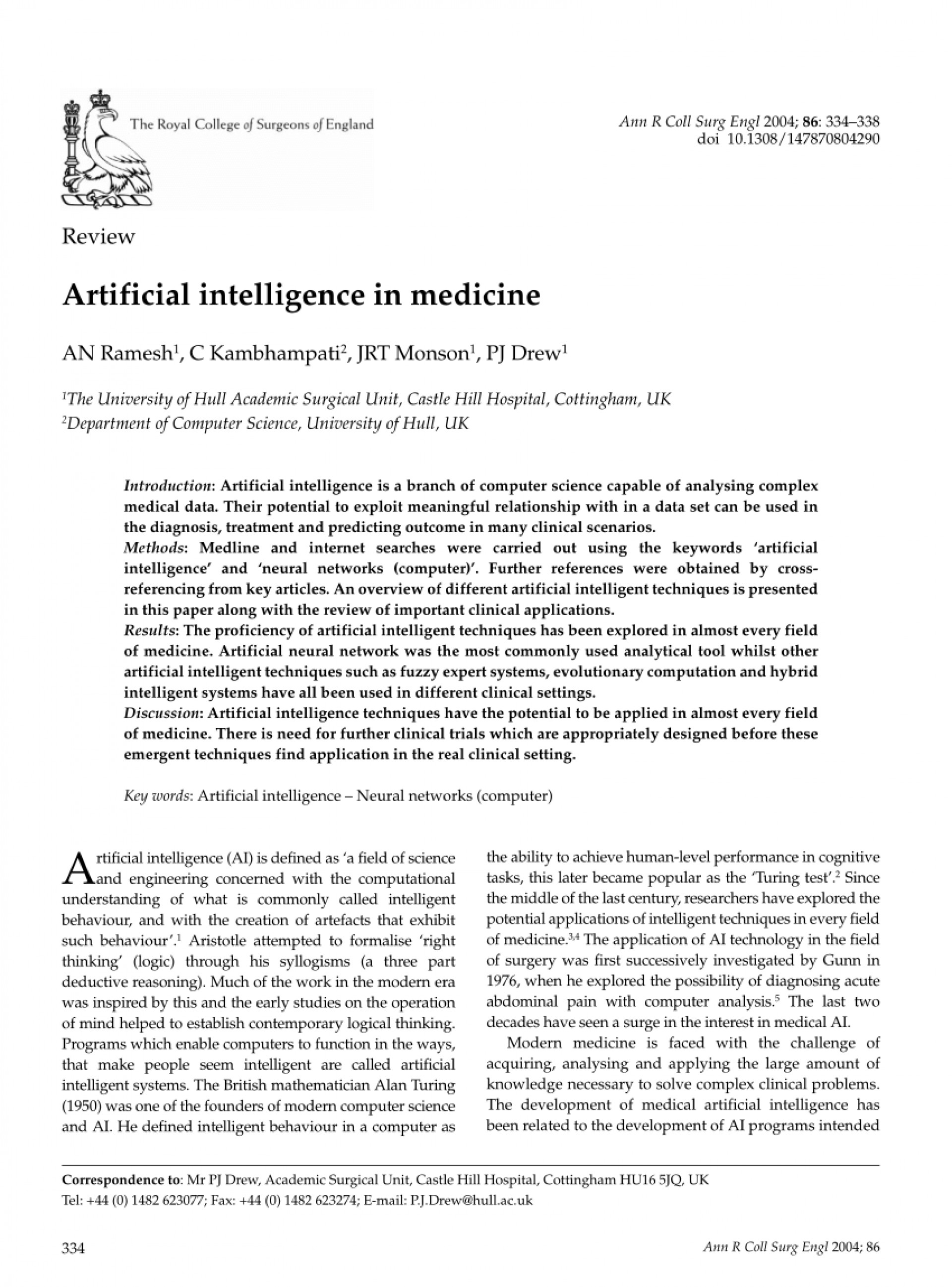 004 Largepreview Research Paper Latest On Artificial Intelligence Surprising Pdf 2017 1920