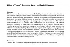 004 Largepreview Research Paper Nursing Articles On Childhood Stirring Obesity