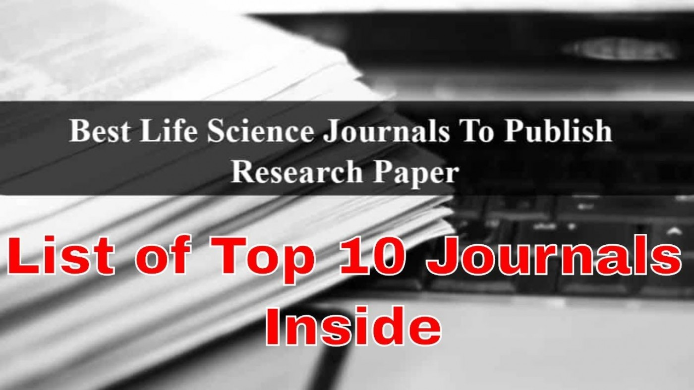 004 Maxresdefault Best Journals To Publish Researchs Stunning Research Papers In Computer Science List Of 1400