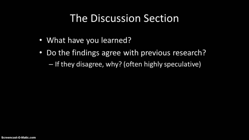 004 Maxresdefault How To Write The Discussion Section Of Research Paper Amazing A Apa
