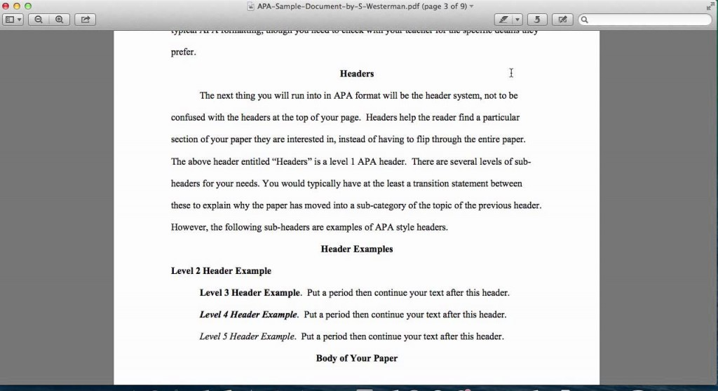 004 Maxresdefault Research Paper Introduction Of Best A Apa For Sample - Style Large